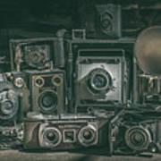 Antique Camera Art Print