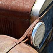 Antique Car Headlamp 2 Print by Douglas Barnett