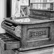 Antique Cash Register Art Print