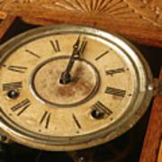 Antique Clock 2 Art Print