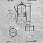 Antique Coffee Percolator Patent Art Print