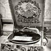 Antique Decca Gramophone By Kaye Menner Art Print