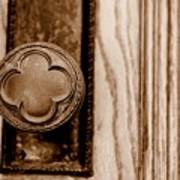 Antique Doorknob Art Print