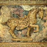 Antique Equine 2 Art Print