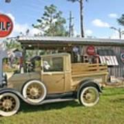 Antique Ford Truck Art Print