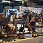 Antique Show Three Horses Art Print