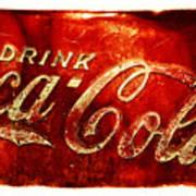 Antique Soda Cooler 2a Art Print