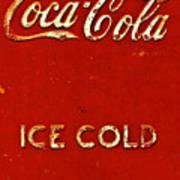 Antique Soda Cooler 6 Art Print