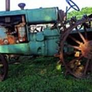 Antique Tractor 1 Art Print