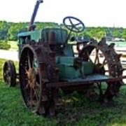 Antique Tractor 2 Art Print