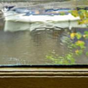 Antique Window - Amsterdam Art Print