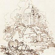 Antiquities Of Dacca Art Print