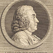 Antoine De Parcieux Art Print