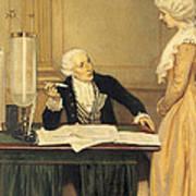 Antoine-laurent Lavoisier Art Print