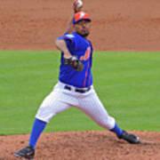 Antonio Bastardo New York Mets Art Print