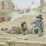 Antonio Ermolao Paoletti The Melon Sellers Art Print