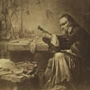 Antonio Stradivari Art Print
