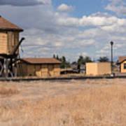Antonito Colorado Tank And Station Art Print