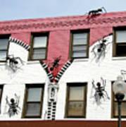 Ants At Zipperhead Art Print