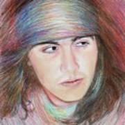 Apache Boy Art Print