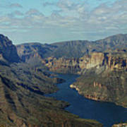 Apache Lake Panorama Art Print