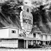 Apache Motel Tucumcari Art Print