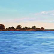 Apalachicola Bay Autumn Morning Art Print
