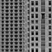 Apartment Buildings As Seen From 59th Street Art Print
