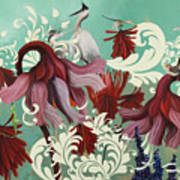 Aphrodite's Garden Art Print
