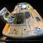 Apollo 14 Command Module Kitty Hawk Art Print