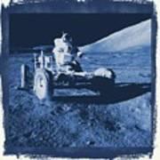 Apollo 17 Lunar Rover - Nasa Art Print