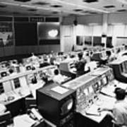 Apollo 8: Mission Control Art Print by Granger