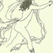 Apollo Pursuing Daphne Art Print