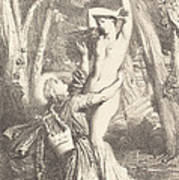 Apollon Et Daphne Art Print