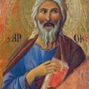 Apostle Andrew 1311 Art Print
