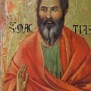 Apostle Matthias 1311 Art Print