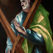 Apostle Saint Andrew Art Print