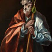 Apostle Saint Thaddeus, Jude Art Print