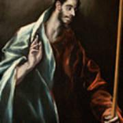 Apostle Saint Thomas Art Print