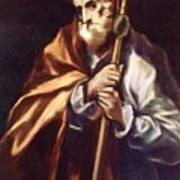 Apostle St Thaddeus Jude Art Print
