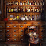 Apothecary - Just The Usual Selection Art Print