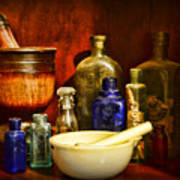 Apothecary - Tools Of The Pharmacist Art Print