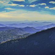 Appalachia Blue Art Print