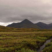 Appealing Scenic Landscacpe In Cuillen Hills Scotland  Art Print