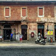 Appia Antica Break Art Print