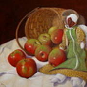 Apple Annie Print by Donelli  DiMaria