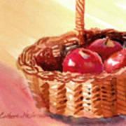 Apple Basket Art Print
