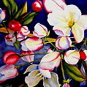Apple Blossom Time Print by Karen Stark