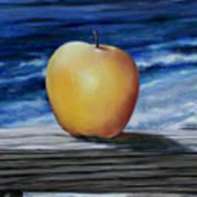 Apple By The Sea Art Print