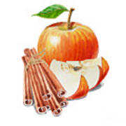 Apple Cinnamon Art Print